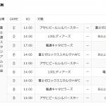X1Area東日本秋季公式戦の開催方式変更に関するお知らせ